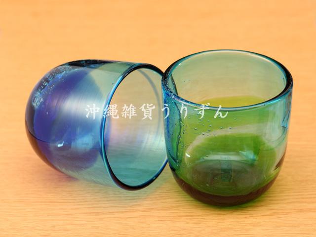 琉球ガラスのロックグラスギフトセット