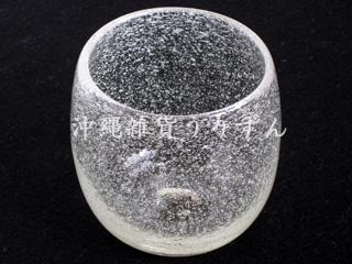 琉球ガラス,タル,グラス,泡,白