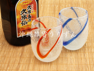 琉球ガラス,泡グラス