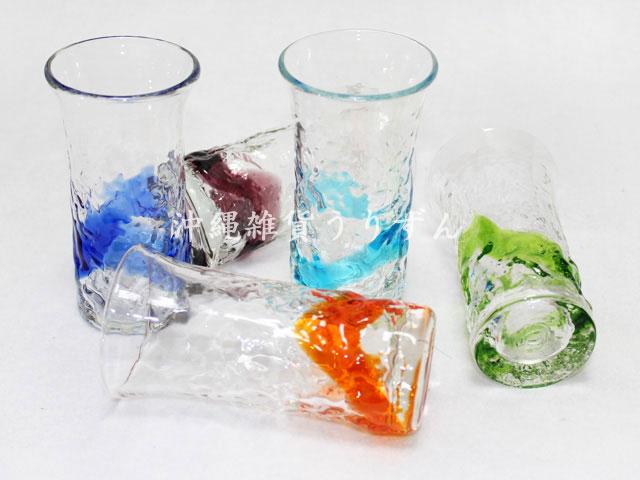 琉球ガラス,ビール,グラス