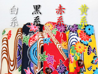 紅型柄,箸袋,沖縄