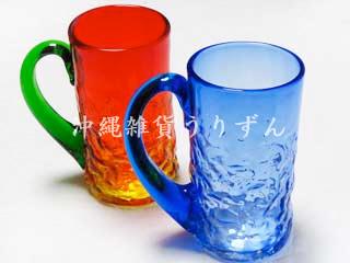 琉球ガラス,ジョッキ,ビールジョッキ