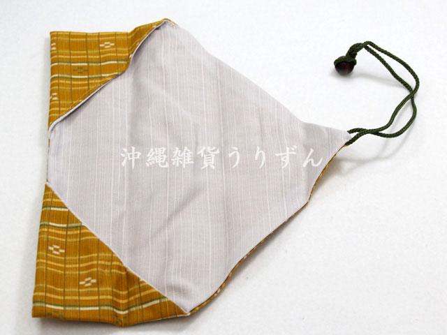 沖縄ミンサー箸袋、箸入