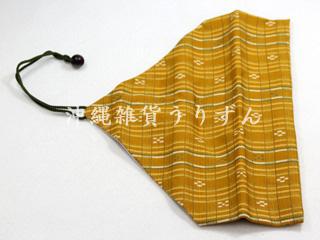 ミンサー柄,箸袋,沖縄