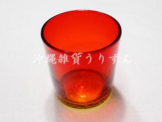 琉球ガラス アイスクラックロックグラス