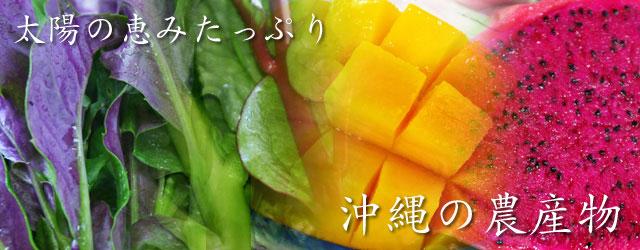 沖縄,農産物,野菜,フルーツ