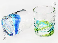 琉球ガラスのロックグラス