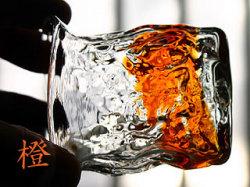 琉球ガラスのぐい呑みグラス