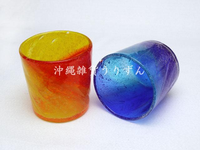 リゾートグラス 琉球ガラスのロックグラス