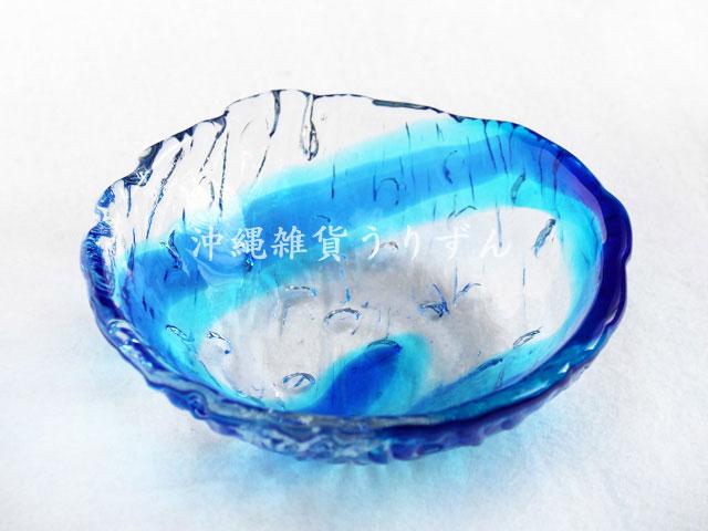 琉球ガラスの小鉢、ボール