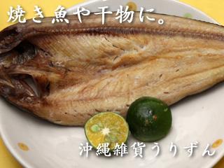 焼き魚や干物にシークワーサー