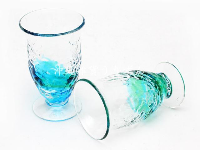 琉球ガラス,シェリー,グラス