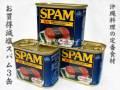 ポークランチョンミートお買得減塩スパム3缶セット