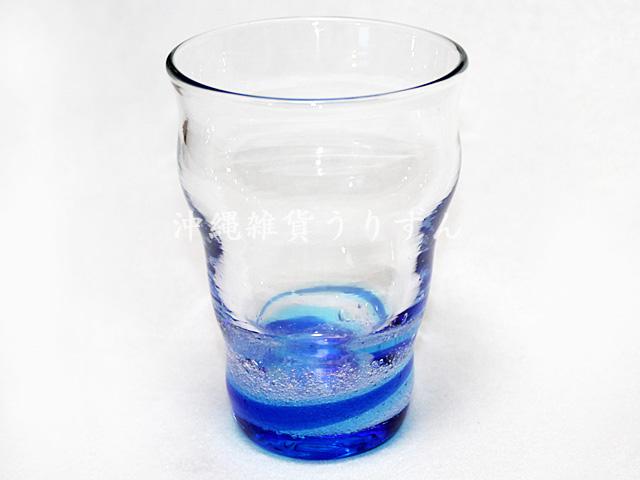 琉球ガラスのび~るグラス