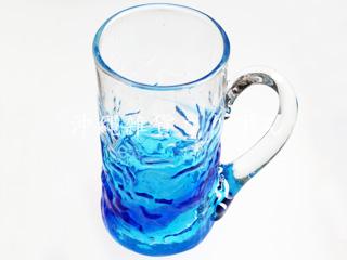 琉球ガラス,ビールジョッキ,ジョッキ