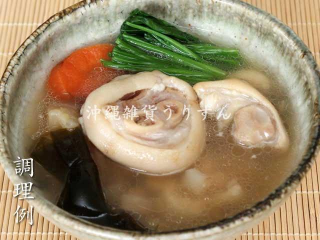 沖縄料理の定番てびち